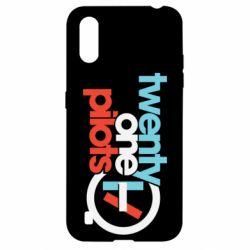 Чохол для Samsung A01/M01 Twenty One Pilots Logo