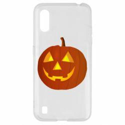 Чохол для Samsung A01/M01 Тыква Halloween