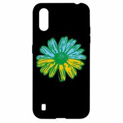 Чехол для Samsung A01/M01 Українська квітка