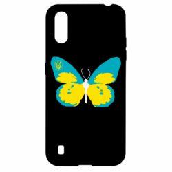 Чохол для Samsung A01/M01 Український метелик