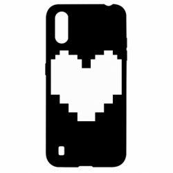 Чохол для Samsung A01/M01 Undertale heart