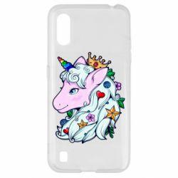 Чохол для Samsung A01/M01 Unicorn Princess