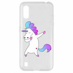 Чехол для Samsung A01/M01 Unicorn swag