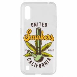 Чохол для Samsung A01/M01 United smokers st relax California