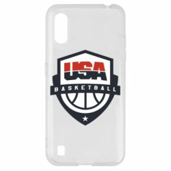 Чехол для Samsung A01/M01 USA basketball