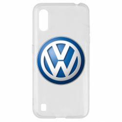 Чохол для Samsung A01/M01 Volkswagen 3D Logo