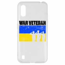 Чохол для Samsung A01/M01 War veteran