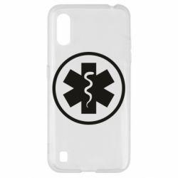 Чохол для Samsung A01/M01 Warface: medic