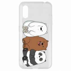 Чехол для Samsung A01/M01 We are ordinary bears