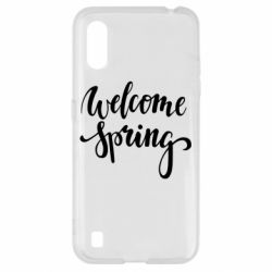 Чохол для Samsung A01/M01 Welcome spring