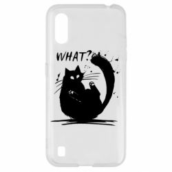 Чохол для Samsung A01/M01 What cat