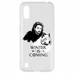 Чохол для Samsung A01/M01 Winter is coming I