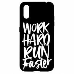 Чохол для Samsung A01/M01 Work hard run faster