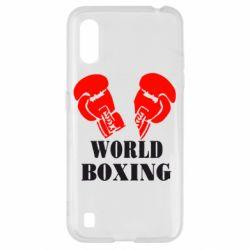Чехол для Samsung A01/M01 World Boxing