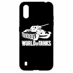Чехол для Samsung A01/M01 World Of Tanks Game