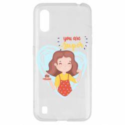 Чохол для Samsung A01/M01 You are super girl