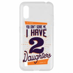 Чехол для Samsung A01/M01 You can't scare me i have 2 daughters