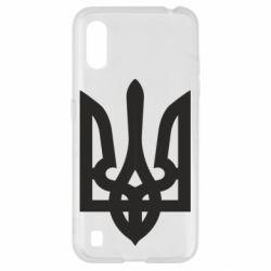 Чехол для Samsung A01/M01 Жирный Герб Украины
