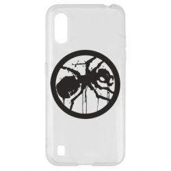 Чехол для Samsung A01/M01 Жирный муравей