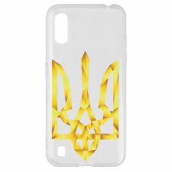 Чехол для Samsung A01/M01 Золотий герб