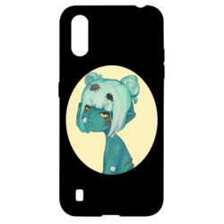 Чохол для Samsung A01/M01 Zombie girl with beetles