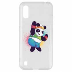 Чохол для Samsung A01/M01 Zumba Panda