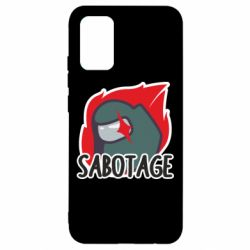 Чохол для Samsung A02s/M02s Among Us Sabotage