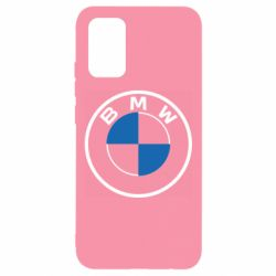 Чохол для Samsung A02s/M02s BMW logo 2020