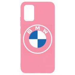 Чохол для Samsung A02s/M02s BMW logotype 2020