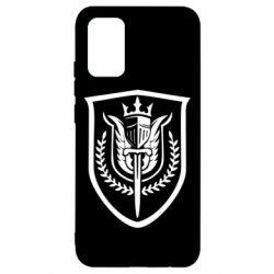 Чохол для Samsung A02s/M02s Call of Duty logo with shield