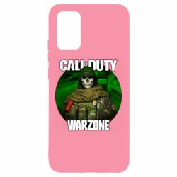 Чохол для Samsung A02s/M02s Call of duty Warzone ghost green background
