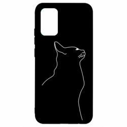 Чохол для Samsung A02s/M02s Cat line