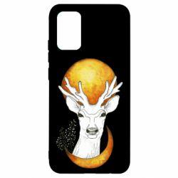 Чохол для Samsung A02s/M02s Deer and moon
