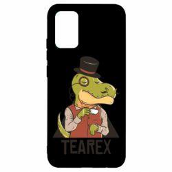 Чохол для Samsung A02s/M02s Dinosaur with tea