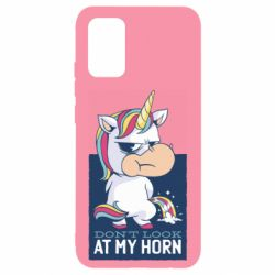 Чохол для Samsung A02s/M02s Don't look at my horn