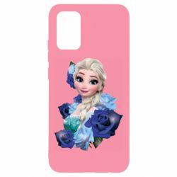Чохол для Samsung A02s/M02s Elsa and roses