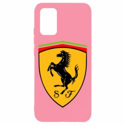 Чехол для Samsung A02s/M02s Ferrari