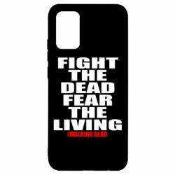 Чехол для Samsung A02s/M02s Fight the dead fear the living