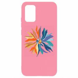 Чохол для Samsung A02s/M02s Flower coat of arms of Ukraine