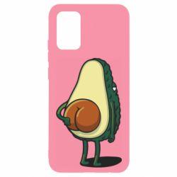 Чохол для Samsung A02s/M02s Funny avocado