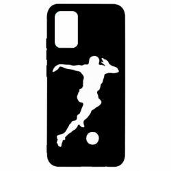 Чехол для Samsung A02s/M02s Футбол