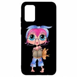 Чохол для Samsung A02s/M02s Girl with a book