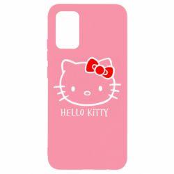 Чехол для Samsung A02s/M02s Hello Kitty
