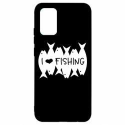 Чохол для Samsung A02s/M02s I Love Fishing