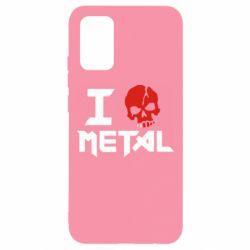 Чехол для Samsung A02s/M02s I love metal
