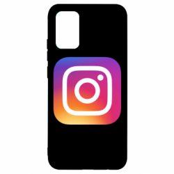 Чохол для Samsung A02s/M02s Instagram Logo Gradient
