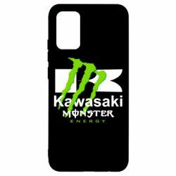 Чохол для Samsung A02s/M02s Kawasaki Monster Energy