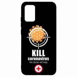 Чохол для Samsung A02s/M02s Kill coronavirus the doctor will help