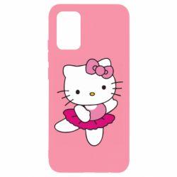 Чехол для Samsung A02s/M02s Kitty балярина