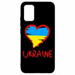 Чехол для Samsung A02s/M02s Love Ukraine